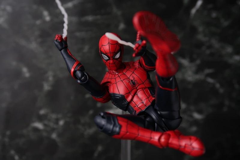 S.H.Figuarts スパイダーマン アップグレードスーツ のフィギュア画像