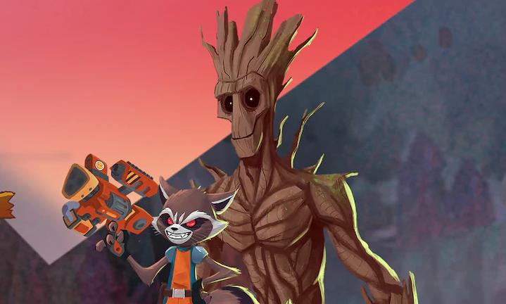 Disney+アニメ『ロケット&グルート』賞金稼ぎ時代のストーリー